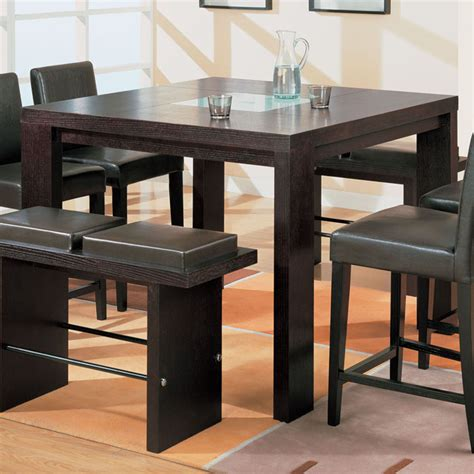 tall dining room tables tall dining room tables with benches dining room tables
