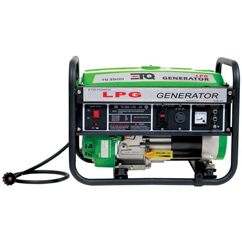 etq 174 propane powered 3 000 watt generator 174024
