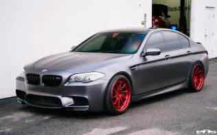 F10 Bmw Frozen Gray F10 Bmw M5 Gets More Power And Custom Wheels