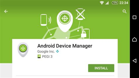 find your phone using android device manager app