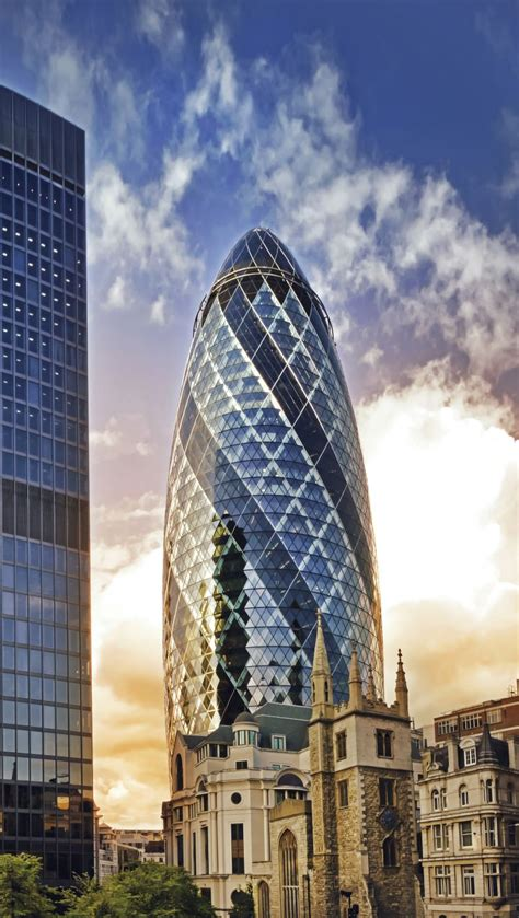famous builders famous gherkin in london city has a new manager news e