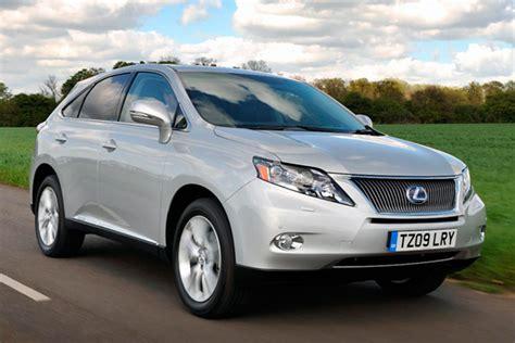 lexus 60000 mile service lexus rx 450h se l review