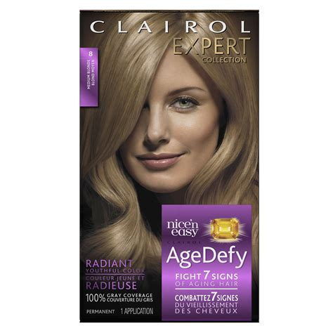 age defy hair color clairol age defy expert collection 7