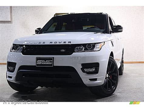 land rover white 2014 2014 land rover range rover sport autobiography in fuji