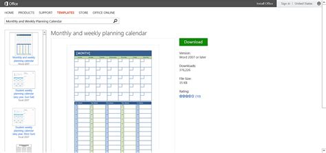 office planner template customizable calendar templates for microsoft office