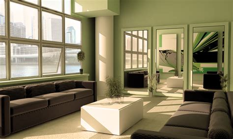 green living room amp green furniture