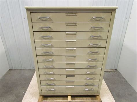 Blueprint Drawers Cabinet by 11 Drawer Steel Flat File 24 1 2 Quot D X 30 Quot W X 41 Quot H