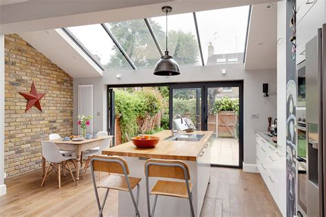 Vaulted Ceiling Kitchen Ideas by 9 Amazing Victorian Terrace Transformations Real Homes