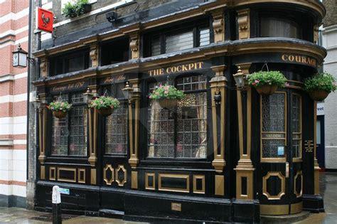 English Tudor Houses the cockpit pub