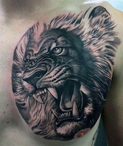 3d lion tattoo 17 beste afbeeldingen op