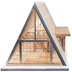 small a frame cabin kits midwest products a frame cabin kit blick materials