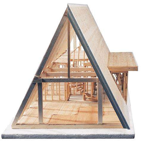 Building An A Frame Cabin Midwest Products A Frame Cabin Kit Blick Materials
