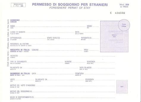 documento per carta di soggiorno il permesso di soggiorno provvisorio portale immigrazione