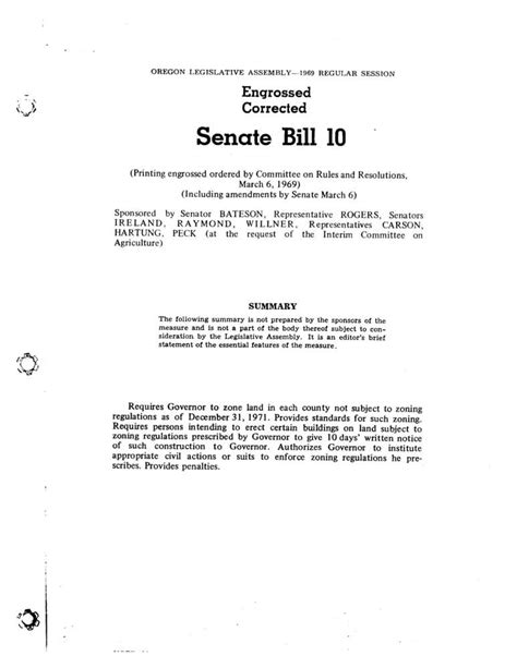 congressional bill template senate bill 100