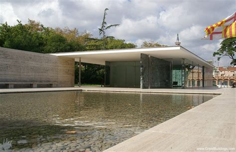 Barcelona Pavillon 1929 by Barcelona Pavilion By Ludwig Mies Der Rohe At