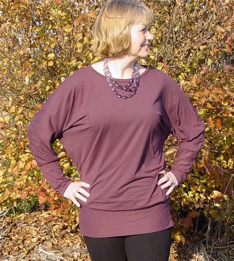 Rx Batwing Top banded batwing top