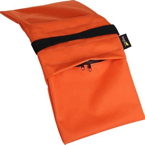 B Lb Orange impact empty saddle sandbag 15 lb orange cordura sbe o 15