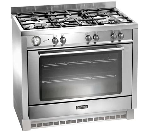 Oven Gas Stainless Steel buy baumatic bcg905ss gas range cooker stainless steel