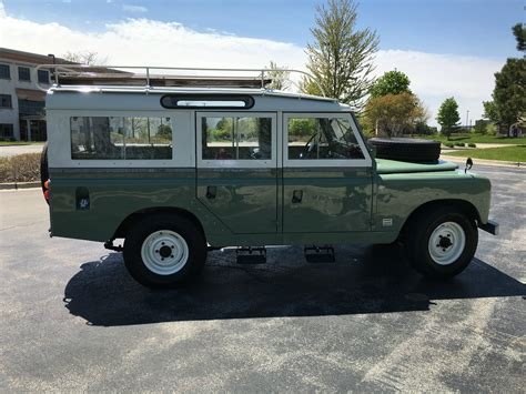 land rover series 3 109 for sale hhh heritage 1965 land rover series lla 109