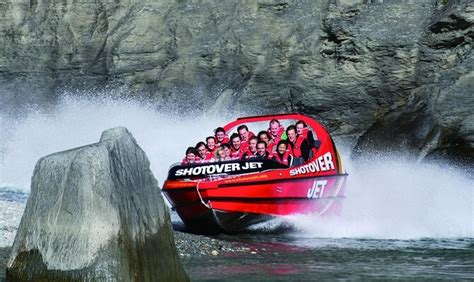 shotover river jet boat ride new zealand shotover jet deals queenstown jet boating ride