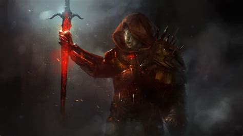 wallpaper abyss warrior warrior full hd wallpaper and background image 3200x1800
