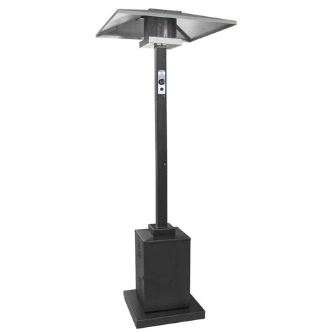 Garden Radiance Patio Heater Garden Radiance 41 000 Btu Stainless Steel Gas Patio Heater Gs4150ngss The Home Depot