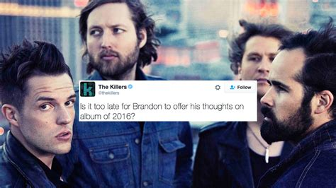 best of the killers the killers brandon flowers reckons an aussie muso had