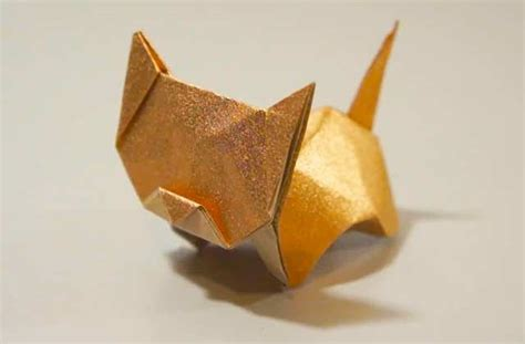 Origami Cat Box - 1000 ideas about origami cat on origami