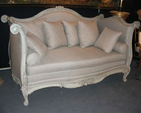 Large End Of 18th Early 19th Century Alcove Sofa Bed At End Of Bed Sofa