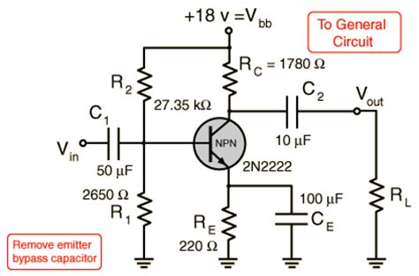 npn transistor in ce configuration npn common emitter lifiers