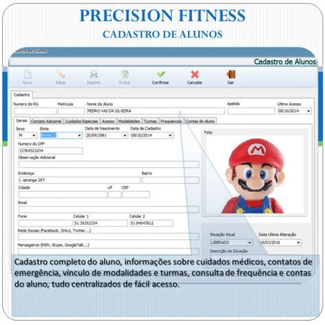 Fitness Software - precision fitness software p academias precision sistemas