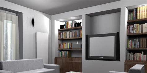 parete libreria cartongesso la parete libreria in cartongesso cose di casa