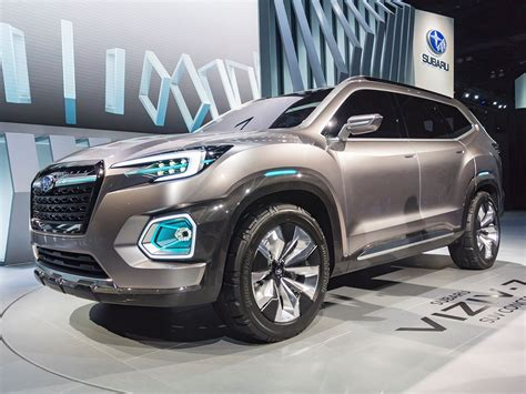 subaru viziv 2018 subaru viziv 7 concept new midsize suv for 2018 kelley