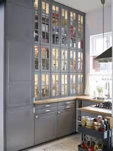 cuisine ikea bodbyn kitchen projet cuisine gris haus et