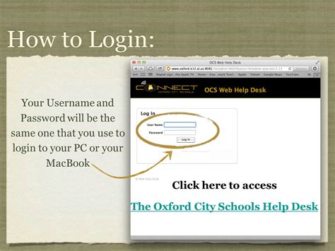 Www Desk Login by Parent Student Resources Welcome To The Oxford City