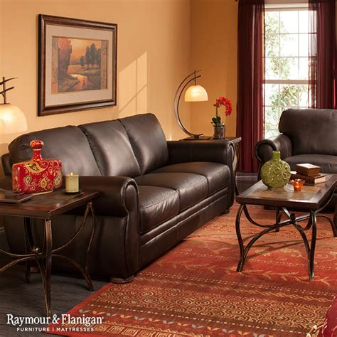 raymour and flanigan living room furniture marsala leather collection living room other metro