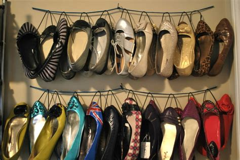 diy hanging shoe rack simple diy hanging shoe organizer closet organization