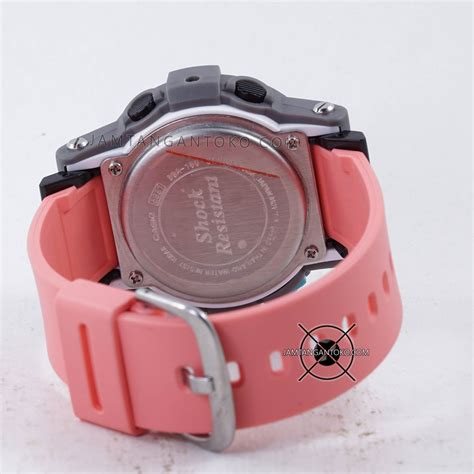Casio Baby G 180 Ori Bm gambar baby g bga 180 4b2 pink abu abu ori bm bagian