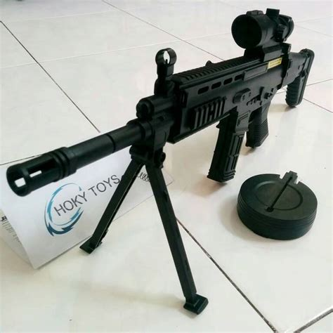 Mainan Senapan Uzi Peluru Nerfspon Dan Air jual mainan pistol pegas air soft gun senapan anak