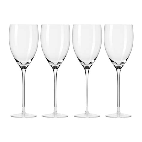 Handmade Wine Glasses - buy a by amara droplet handmade wine glass set of 4