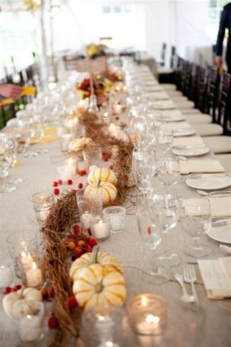 beautiful fall wedding table decoration ideas style