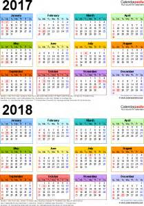 Indonesia Calendrier 2018 2017 2018 Calendar Free Printable Two Year Pdf Calendars