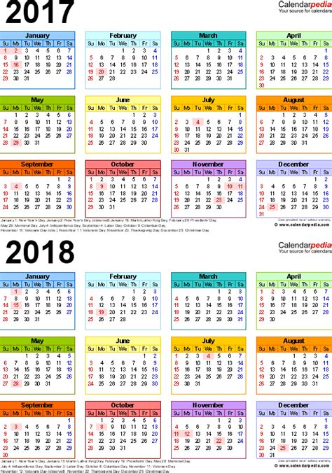 printable yearly school calendar image gallery september 2017 2018