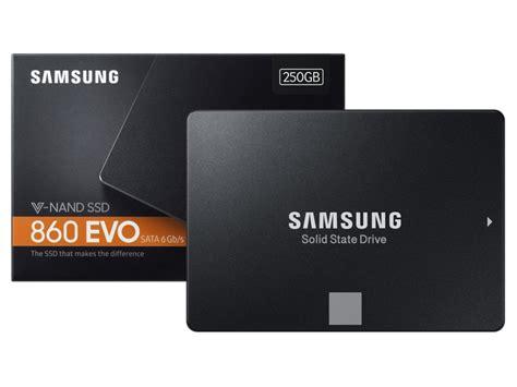 Samsung 860 Evo 500gb Samsung Mz 76e250bw 860 Evo 250gb Sata 6gb S 2 5 Quot Solid State Drive Wootware