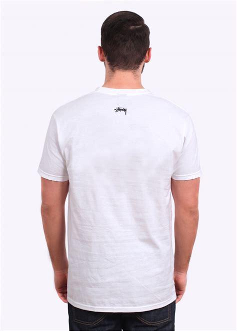 Kaos Tshirt Stussy Logo Green Premium stussy ss link white