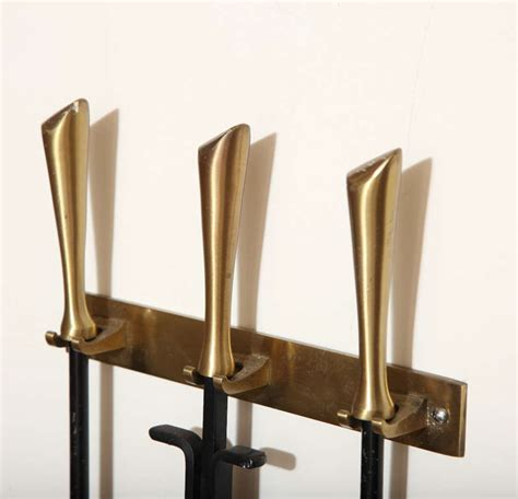 wall mounted george nelson fireplace tools at 1stdibs