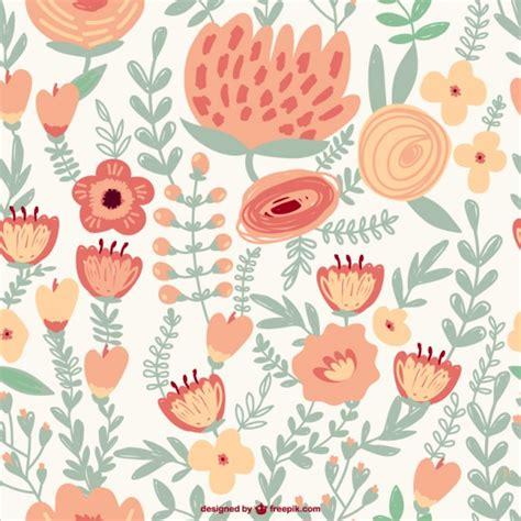 imagenes de flores vintage patr 243 n de flores vintage descargar vectores gratis
