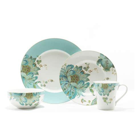 222 fifth eliza spring 16 piece dinnerware set 6535 dinnerware