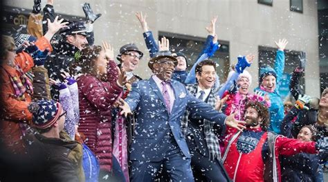 groundhog day musical trailer andy karl the cast of groundhog day perform on