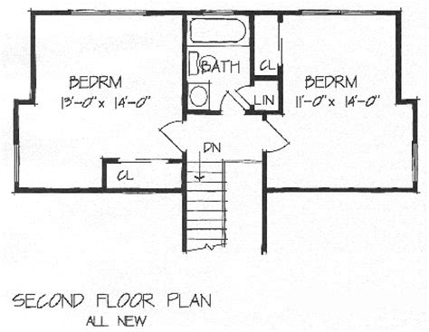 2 bedroom addition floor plans new shed dormer for 2 bedrooms brb12 5176 the house